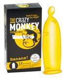 Kondómy The Crazy Monkey Banana (12 ks)