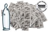 Kondómy so zosilnenou textúrou Secura Heavy Rubber (50 ks)