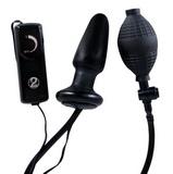 Nafukovací vibračný análny kolík