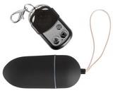 Vibračné vajíčko Black & Silky na diaľkové ovládanie