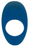 Vibračný erekčný krúžok Lust modrý