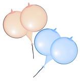 Balóniky prsia