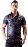 Pánske tričko z umelej kože