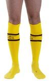 Športové ponožky Mister B žlté