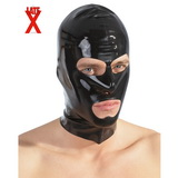 Čierna latexová maska