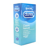 Natural Durex (12 ks)
