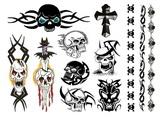 Tattoo súprava - Punk Bitch
