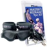 Masters Restraint Kit - 9-dielna bondage súprava