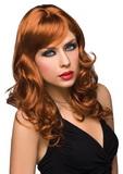 Parochňa Pleasure Wigs Aubrey red