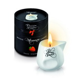 Plaisirs Secrets - Massage Candle Strawberry 80 ml