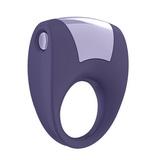 Ovo - B8 vibračný krúžok fialový