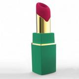 Sací vibrátor na klitoris Womanizer 2Go Lipstick zelený