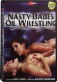 DVD - Nasty Babes Oil Wrestling