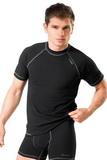 Pánske tričko gWinner Classic V čierne
