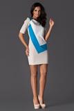 Dámske šaty Figl M118 modré