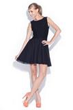 Dámske šaty Figl M112 čierne