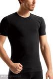 Bezšvové tričko Brubeck SS00990 čierne