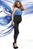 Tehotenské legíny BasBleu Anabel čierne