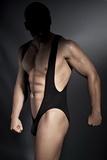 Pánske body Anais Bryan čierne