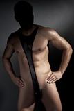 Pánske body Anais Derrick čierne