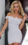 Dámska košieľka Softline Adeline biela