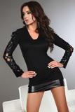 Dámske šaty LivCo Corsetti Odilia čierne