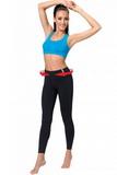 Fitness legíny gWinner Slimming leggins čierne