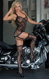 Bodystocking Softline 6269 Crazy čierny