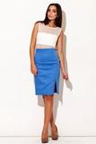 Dámska sukňa Figl M207 modrá