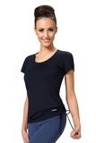 Fitness tričko gWinner Dominika II čierne