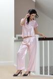 Dámske pyžamo DKaren Ewa ružové
