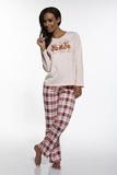 Dámske pyžamo Cornette Bears 65510 ružové