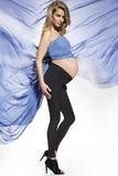Tehotenské legíny BasBleu Suzy čierne
