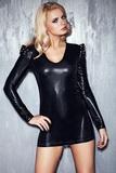 Erotické šaty 7-Heaven Brandy čierne