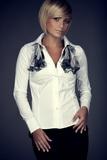 Dámska košeľa Figl M021 biela