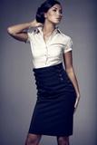 Dámska sukňa Figl M036 čierna