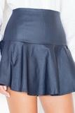 Dámska sukňa Katrus K239 granátová