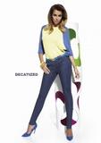 Dámske nohavice BasBleu Natalie jeansové