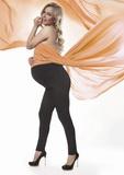 Tehotenské legíny BasBleu Stefanie čierne