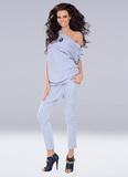 Dámske nohavice Axami VU-0047 šedé