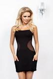 Erotické šaty DKaren Olga čierne