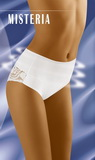 Sťahovacie nohavičky Wolbar Misteria biele