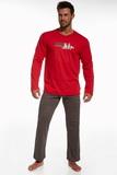 Pánske pyžamo Cornette 12460 Origin 2 červené