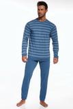 Pánske pyžamo Cornette 11775 Loose 4 modré