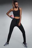 Fitness legíny BasBleu Lorena čierne