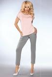 Dámske pyžamo LivCo Corsetti Model 101 šedo-ružové