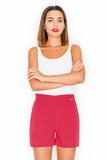 Dámske šortky Katrus K294 červené