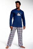 Pánske pyžamo Cornette 12420 I like modré