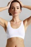 Fitness podprsenka Eldar Sisi biela