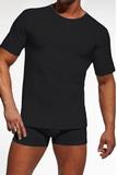 Pánske tričko Cornette 202 čierne